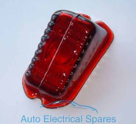 Rear Brake / Tail Lamp / light lens GLASS Red replaces Lucas L471